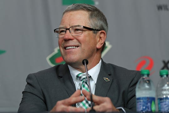 Minnesota Wild general manager Paul Fenton was let go after less than 15 months on the job.