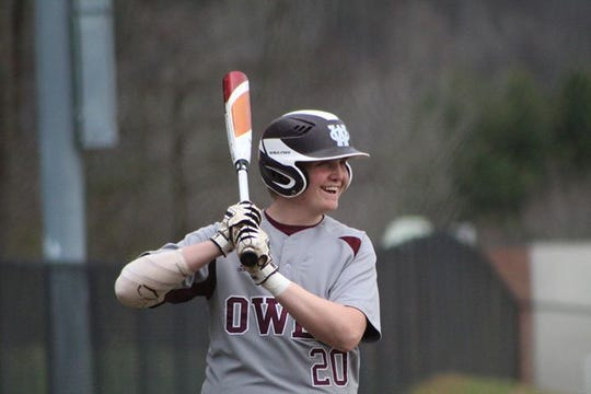 Trenton Messer, the MVP of the Owen Warhorse baseball team for the 2019 season, is heading across the Swannanoa Valley to continue his career at Montreat College.