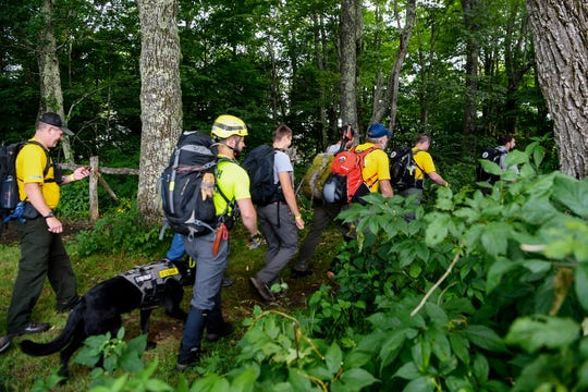 Search-and-rescue workers from about 60 agencies and five states search for a man with dementia who was missing in July in the Great Smoky Mountains National Park for five days. The Smokies, the busiest national park in the country, gets 11.4 million visitors a year and has 35 law enforcement officers. The park was asked to send two rangers to Border Patrol details in 2020.