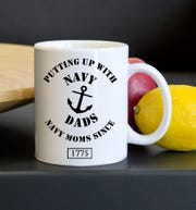 Mugs are some of Totally Memories' best-selling items. Here is an example of one.