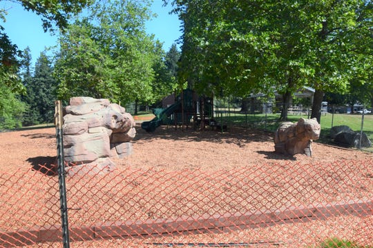 Buck Lake Park is getting a playground, slated to open August 6.