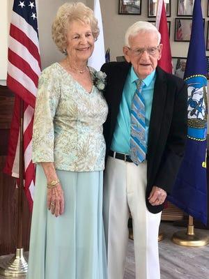 91-year-old Mary Helen Wester will marry 95-year-old Jack Herpel on Aug. 3, 2019, at Georgianna United Methodist Church on Merritt Island.