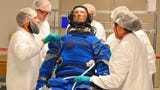 The suit to be worn by astronauts inside Boeing's Starliner capsule were fitted to a sensored mannequin that will be used in an upcoming test flight