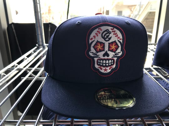 A closer look at the new Dia De Los Hooks logo that is available on caps, patches and apparel.
