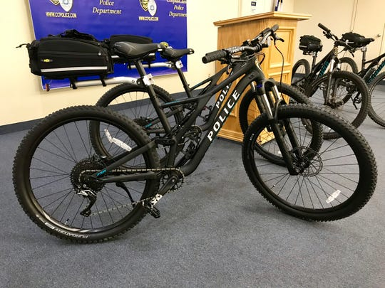 The Corpus Christi Police Foundation and other community partners helped with the purchase of four new bicycles for the police department's Bicycle Unit.