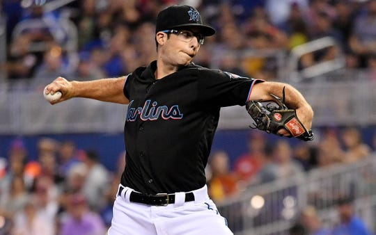 The Miami Marlins traded Zac Gallen, a Bishop Eustace graduate, to the Arizona Diamondbacks on Wednesday.