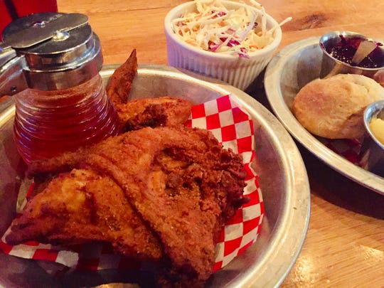 Fried chicken from The Eagle