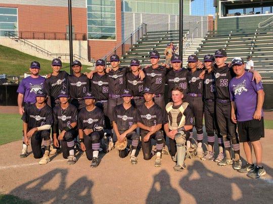 Baseball Warehouse 16-U team