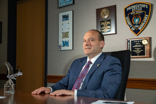 After six years as Middlesex County's top law enforcement official, Andrew Carey is leaving to become an Assistant U.S. Attorney in the Camden branch.