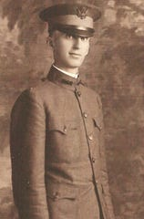Dr. James G. Smailes Sr. in his military uniform. He served in the medical corps in World War I. Smailes was a doctor in Coshocton from 1923 until his death in 1962.