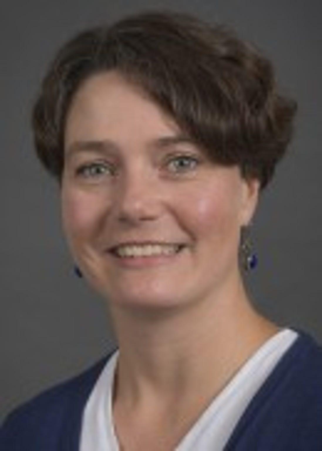 Christine Petersen, University of Iowa professor and epidemiologist.