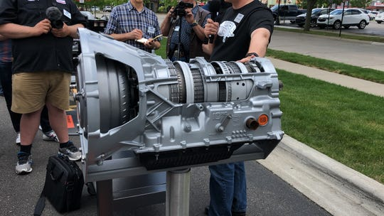 The 10-speed transmission in Ford's 2020 Super Duty pickups is the same length as the six-speed it replaces.