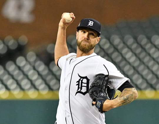 The Tigers traded closer Shane Greene to the Braves on Wednesday.