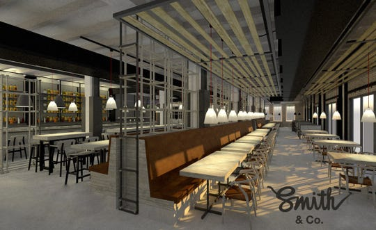 Smith & Co. is expected to open in September in the Cass Corridor.