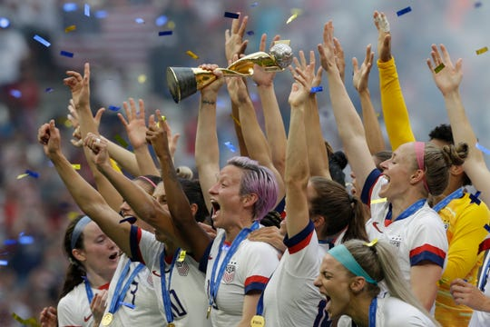 The U.S. received $4 million of a $30 million prize pool for winning the World Cup this year.