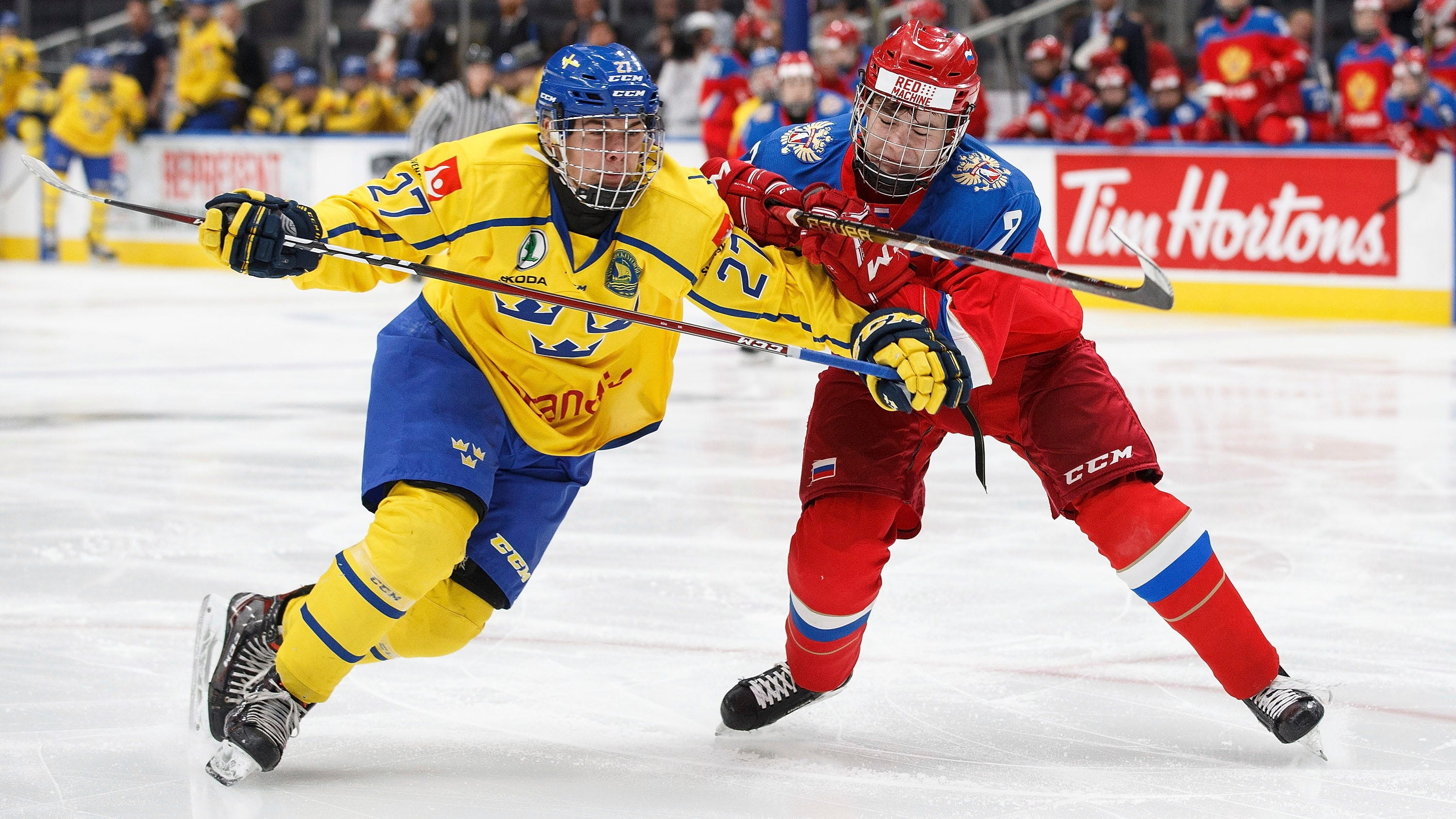 High Scoring Swedish Players Draw Attention In Plymouth As Possible Detroit Red Wings Draft Picks