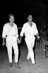 """Marianne Ihlen and Leonard Cohen in """"Marianne and Leonard: Words of Love."""""""