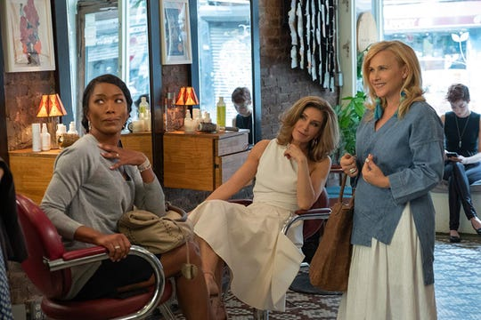 "Angela Bassett, Felicity Huffman and Patricia Arquette in ""Otherhood."""