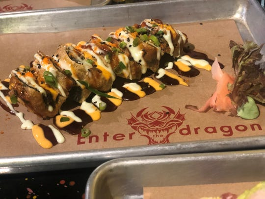 Sushi has been added to the menu at Enter the Dragon, the new name of the former Danger Danger concept in Cape Coral.