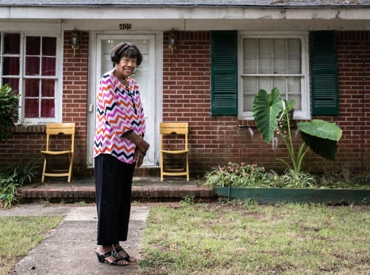 Lera Lenora Davis, 87, has lived at her home on Starke Street in Anderson for 53 years. Lebranden Anthony, her grandson-in-law and his development group Revitalize DT 1578 have plans to revitalize the street, now filled with several empty lots and homes in disrepair, in what they are calling the Starke Street Initiative.