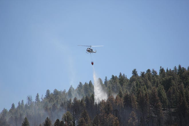 A wildfire in Bannack State Park in Montana was reportedly 100 percent contained as of Wednesday.