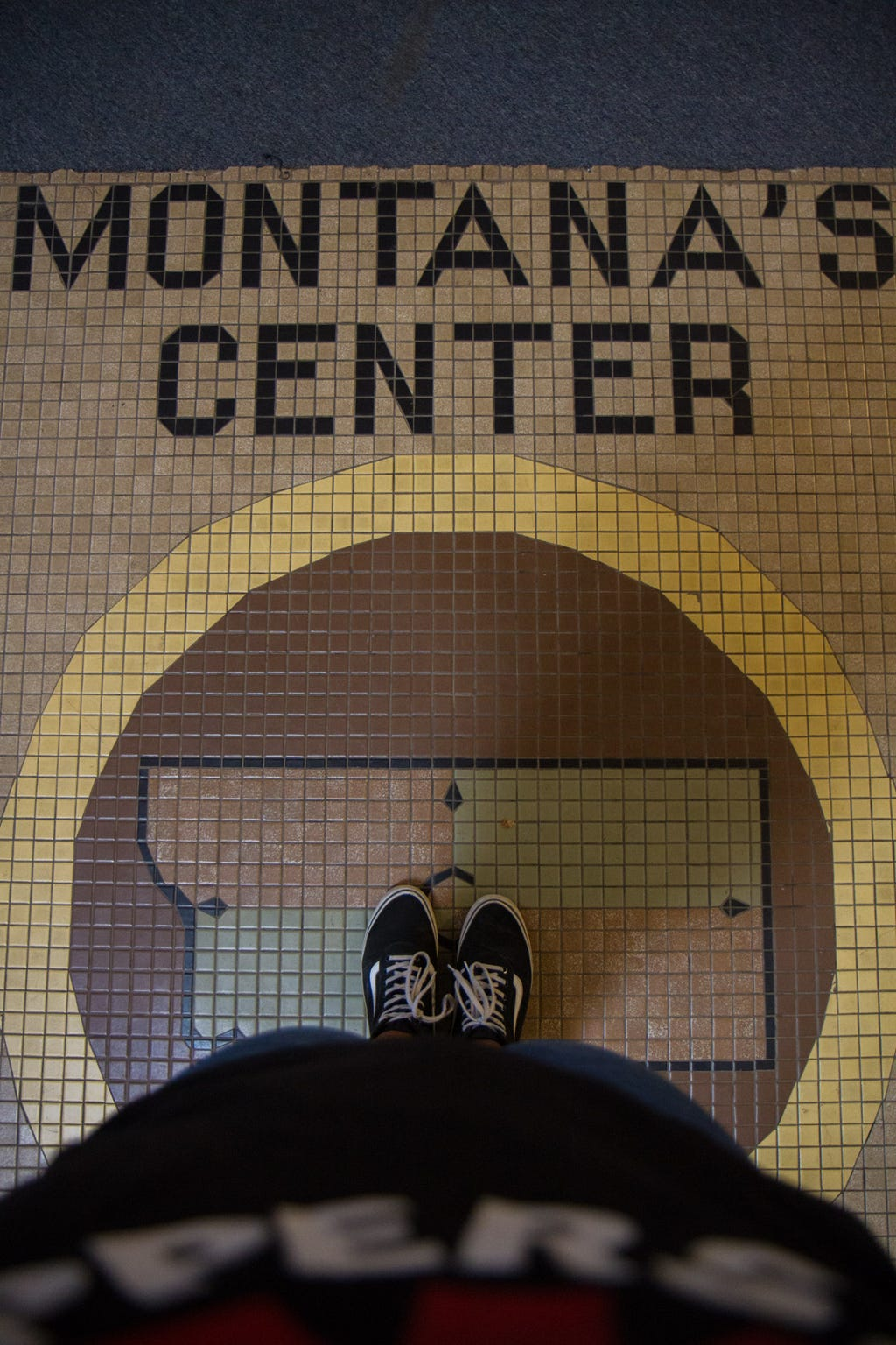 The Centermark of Montana in the pool area of the Yogo Inn in Lewistown