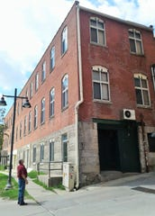 You might not notice one of Tom Schulein's favorite historic structures downtown, the long and narrow Boerner-Fry building which started as a vanilla extract factory in 1899.