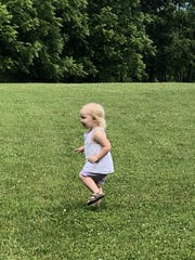 Hailey Kotmel of Newfield enjoying her summer.