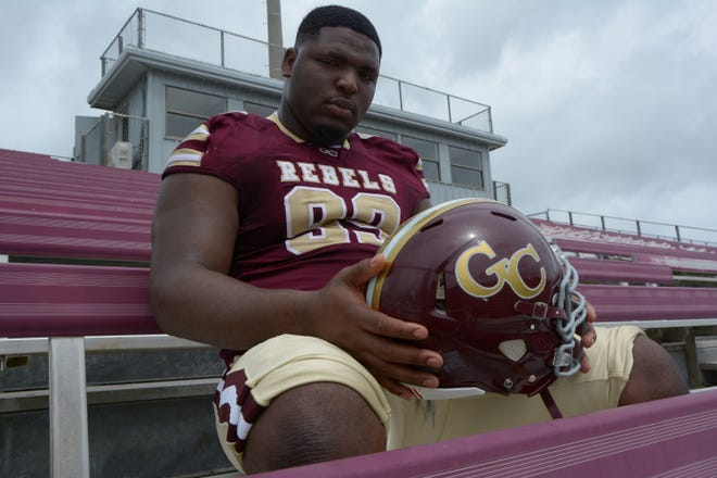 George County defensive tackle McKinnley Jackson is rated as the No. 1 player in the state on 247Sports.