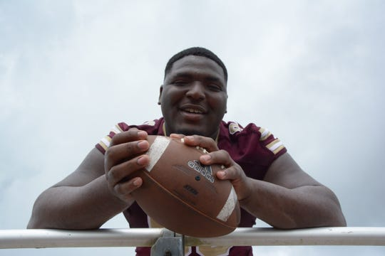 George County defensive tackle McKinnley Jackson is rated as the No. 10 defensive tackle in the country on 247Sports.