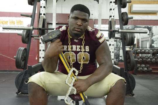 George County defensive tackle McKinnley Jackson has offers from Alabama, LSU, Auburn, Mississippi State, Ole Miss and others.