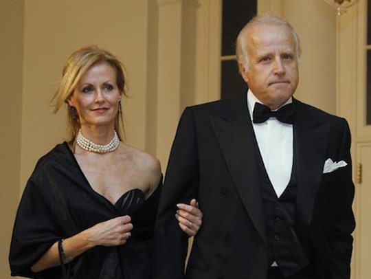 Jim Biden, brother of former Vice President Joe Biden, is shown with his wife, Sara Biden.