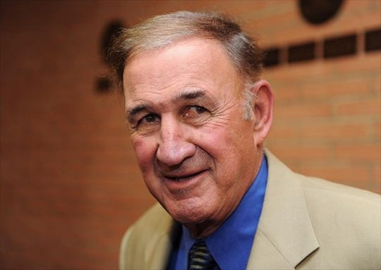 Monte Kiffin was defensive coordinator for the University of Tennessee Vols under his son, Lane Kiffin.