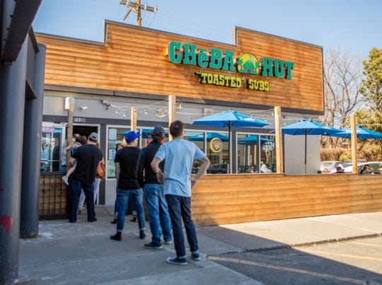 Cheba Hut is a franchise based in Fort Collins, Colo. The marijuana-themed fast-casual restaurant wants to add two locations in East Lansing near Michigan State University's campus.