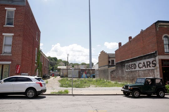 A currently empty lot sits where a new restaurant is to be developed at 1007 Main st., aiming to open by the summer of 2020. Taken Tuesday, July 30, 2019 in Lafayette.