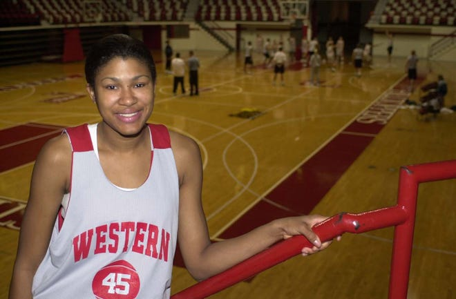 As a Manual High School senior in 1996-97, ShaRae Mansfield averaged 18.2 points and 8.2 rebounds to earn first-team All-State honors and also was named Gatorade Kentucky Player of the Year. She went on to play at Western Kentucky University from 1997-2001 and recorded career totals of 1,804 points and 1,000 rebounds. She was selected in the third round of the 2001 WNBA Draft by the Houston Comets and also played professionally in Israel.