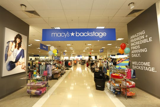 Macy's Backstage, a new off-price shopping experience on the third floor of Macy's in Oxmoor Center