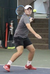Ryan Mecurio staged a big comeback to win the boys 16 singles title Tuesday in the 86th News Journal/Richland Bank Tennis Tournament at Lakewood Racquet Club