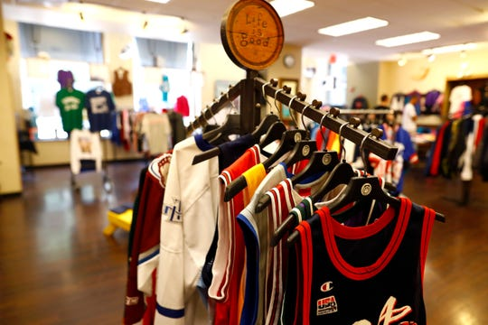 Head to Toe on Main Street downtown Memphis, where owner Kymer Levy is bringing together old and new styles from classic footwear to tees; selling used, new and on consignment from the pop-up on Wednesday, July 31, 2019.