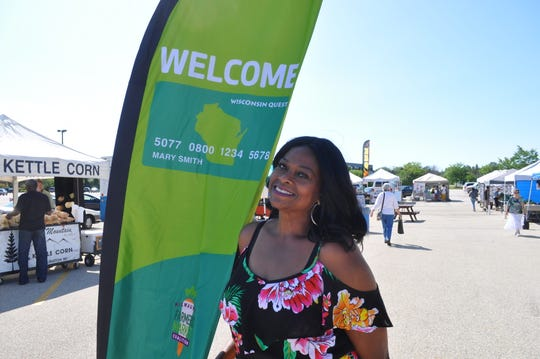 Melissa Felix is the market access coordinator at the Brown Deer Farmers Market. She has been spreading the word about the market's dollar-for-dollar matching program for those using EBT, WIC or senior vouchers as payment.