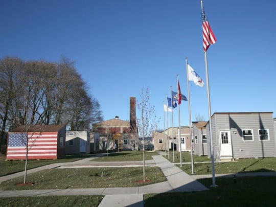 "Fifteen ""tiny homes"" for homeless veterans opened in Racine in 2017. A similar development, with up to 48 homes, is planned for Milwaukee."