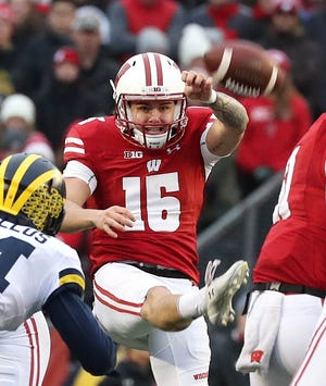 Anthony Lotti was the Badgers' punter for most of the past four seasons.