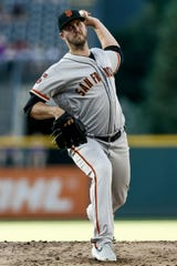 Drew Pomeranz struggled as a starter for the San Francisco Giants this season and was moved to the bullpen.