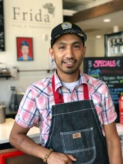 Martin Magaña worked his way through kitchens in Milwaukee and Madison before landing as executive chef at Tess and Frida.