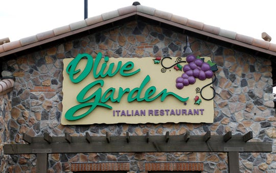 This file photo shows an Olive Garden restaurant in Methuen, Massachusetts. Menomonee Falls will open its first Olive Garden Jan. 27.