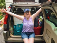 A Brookfield native is taking her camera to every state to show that 'people are much more alike than different'
