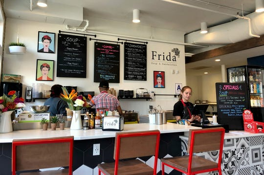 Frida is located in the Crossroads Collective, 2238 N. Farwell Ave.