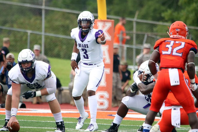 UCA's Breylin Smith as returned to his starting quarterback position after breaking his leg in his fourth start last season.