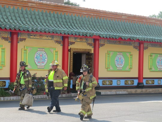 The scene of a small smoke fire that received a two-alarm response at Hunan Taste in Denville. July 31, 2019