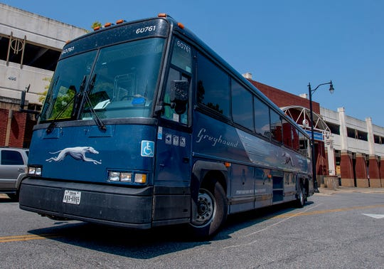 Greyhound bus service closes South Blvd  terminal, returns to